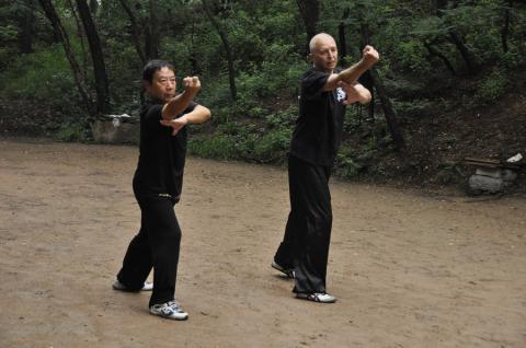 Qingdao trening z mistrzem Li Qiyu