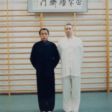 Shifu Yu Tiancheng ze Sławomirem Milczarkiem w Warszawie
