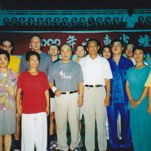 Weihai z shifu Yu Tiancheng i Yu Hai (shifu z Klasztor Shaolin)